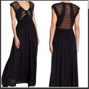 Love Stitch Boho Maxi Dress